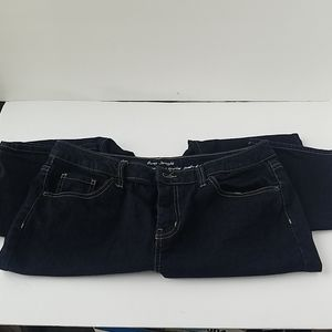 Merona curvy straight jeans SZ 14 Short